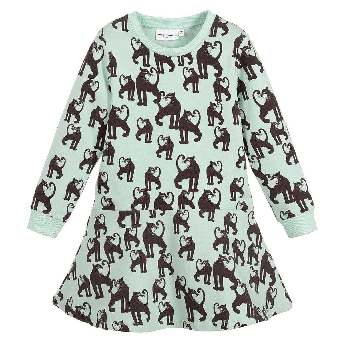 Sale - Panther Dress - Mini Rodini Mini Rodini 875PEym