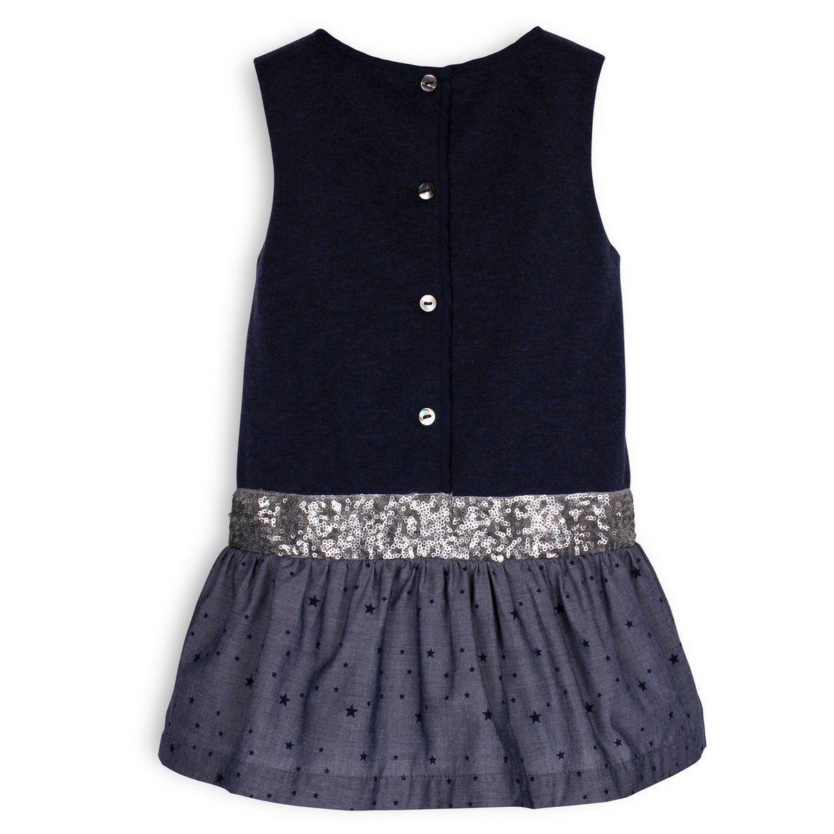blue sequined belt dress troizenfants sale angelibebe